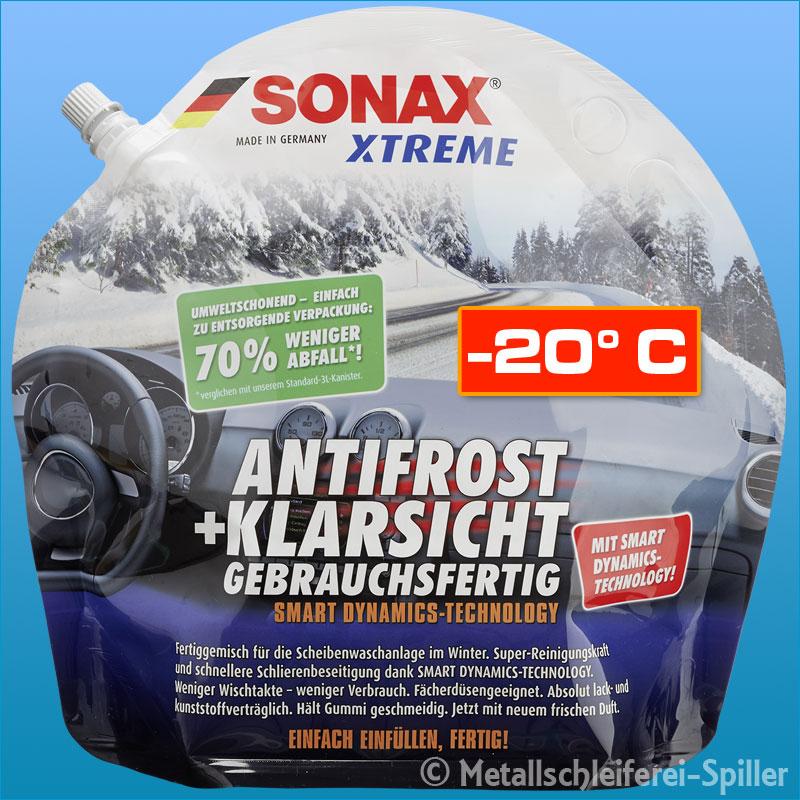 8x sonax xtreme antifrost klarsicht 3 liter. Black Bedroom Furniture Sets. Home Design Ideas